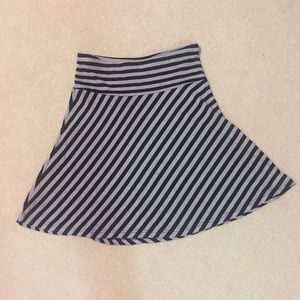 Last Call H&M Striped Skirt